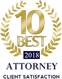 10 Best 2018 | Attorney | Client Satisfaction